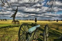 Battlefields of Gettysburg.