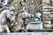 Fountain of Neptune, Florence Italy
