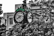 Town Square clock.